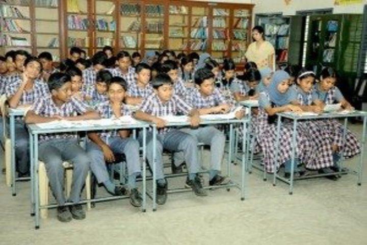Jyothi Nivas Public School-Library