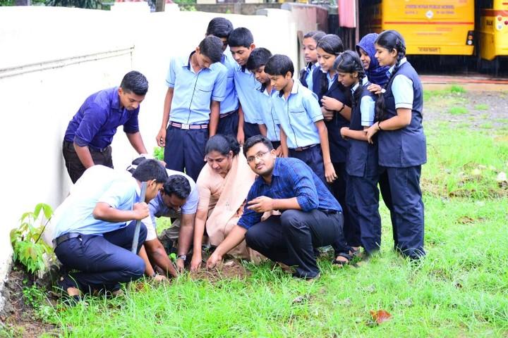 Jyothi Nivas Public School-Plantation Day
