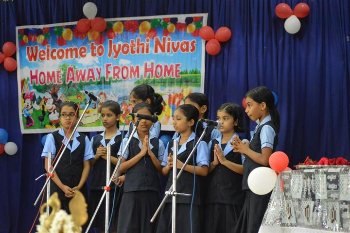 Jyothi Nivas Public School-Singing Activity