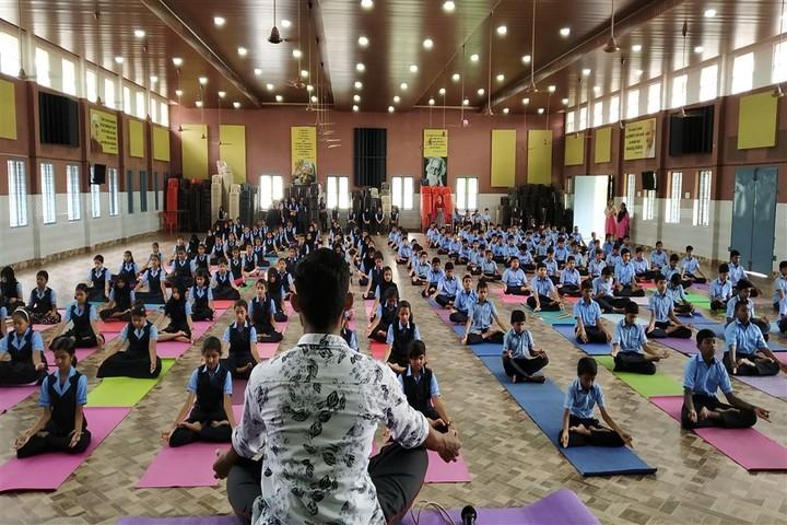 Jyothi Nivas Public School-Yoga