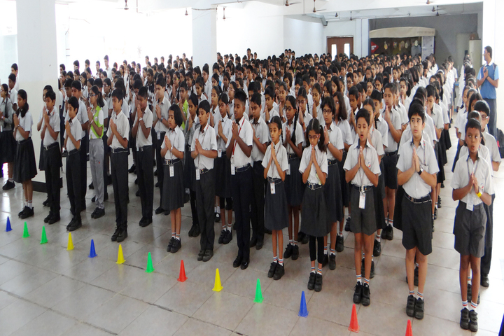 Jyoti Nilayam Secondary School-Assembly