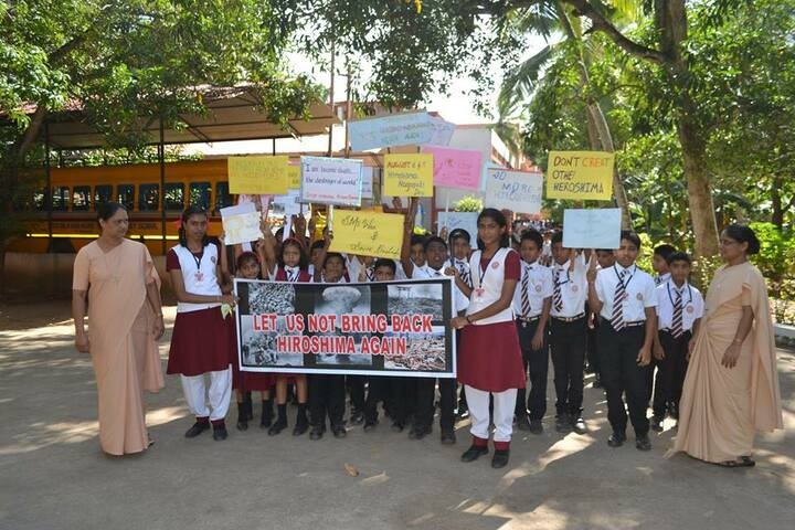 Jyoti Nilayam Secondary School-Rally for Social Awareness