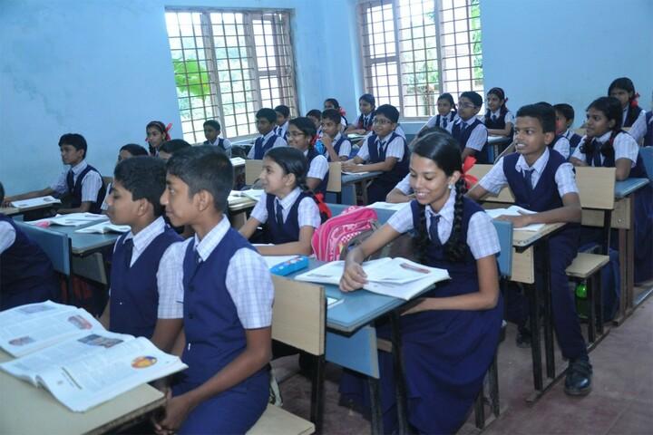 K N Sathyapalan Memorial Sree Narayana Central School-Classroom