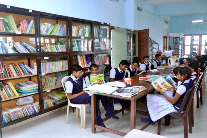 K N Sathyapalan Memorial Sree Narayana Central School-Library