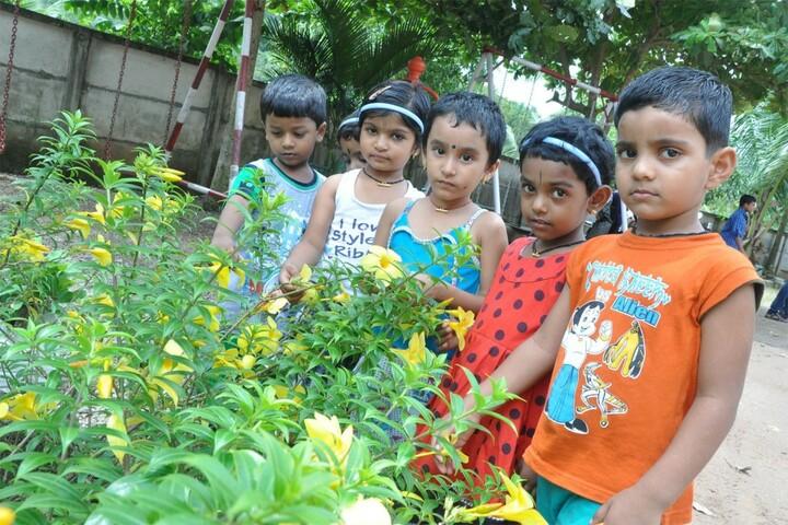K N Sathyapalan Memorial Sree Narayana Central School-Plantation Day