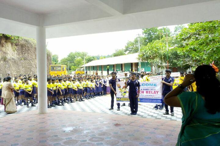 K N Sathyapalan Memorial Sree Narayana Central School-Rally