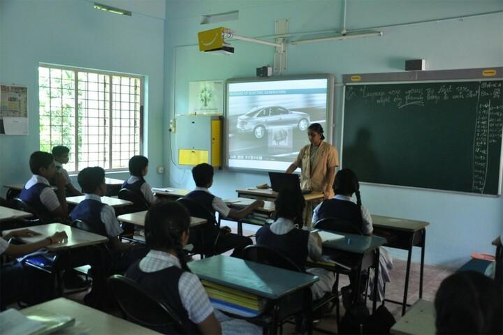 K N Sathyapalan Memorial Sree Narayana Central School-Smart Classroom