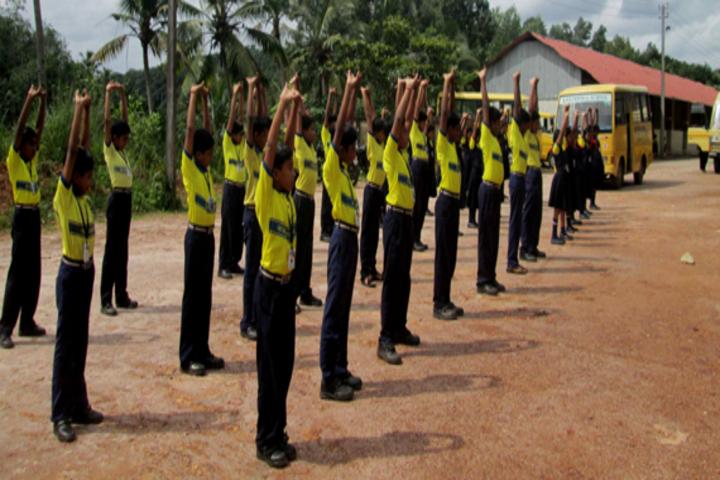 K N Sathyapalan Memorial Sree Narayana Central School-Yoga