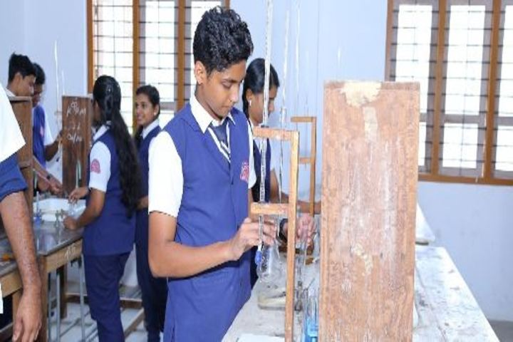 K P M Model School-Chemistry Lab
