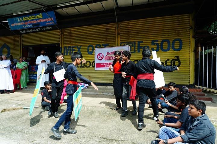 Kallivayalil Pappan Memorial Public School-Rally