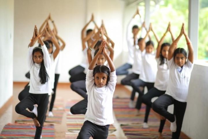 Kallivayalil Pappan Memorial Public School-Yoga