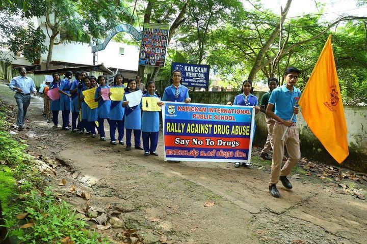 Karickam International Public School-Rally for Social Awareness