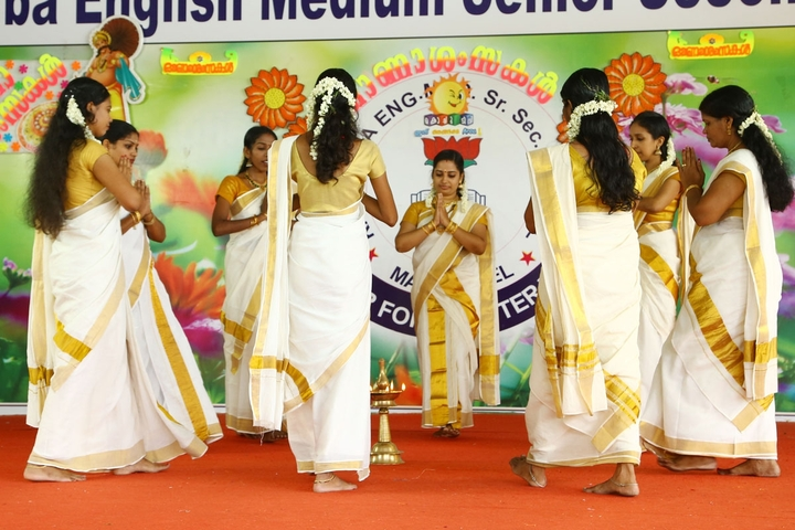 Kasturba English Medium School-Onam Celebrations