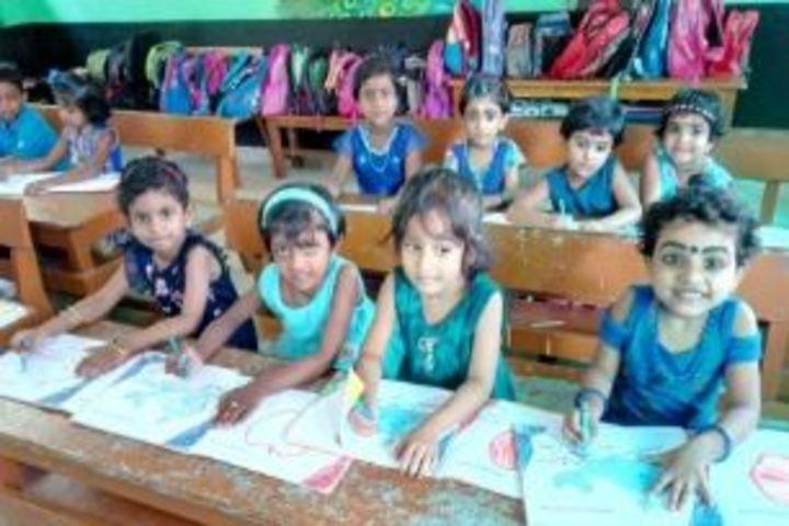 Karuna Central School-Blue Day