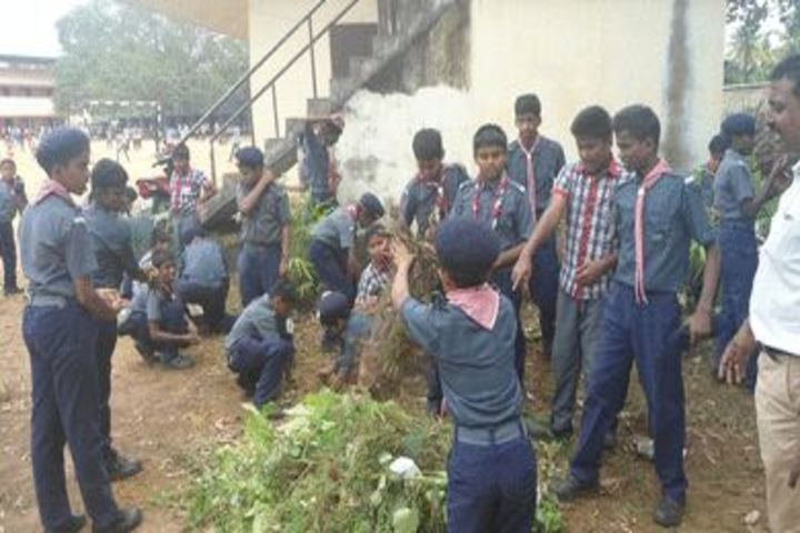 Kendriya Vidyalaya-Plantation Day