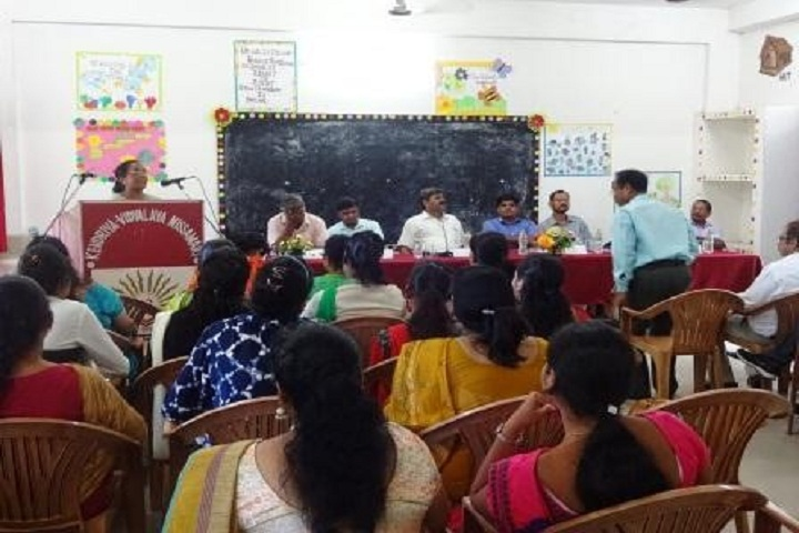 Kendriya Vidyalaya No 1-Staff meeting