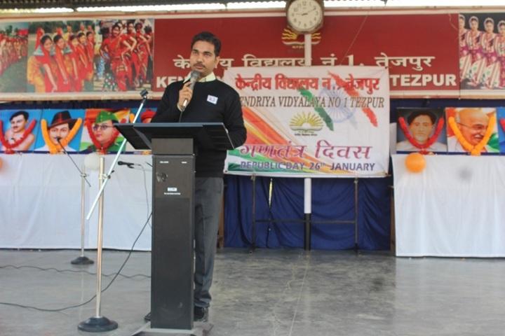Kendriya Vidyalaya No 1-Speech