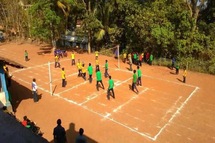Kendriya Vidyalaya-Volleyball Court