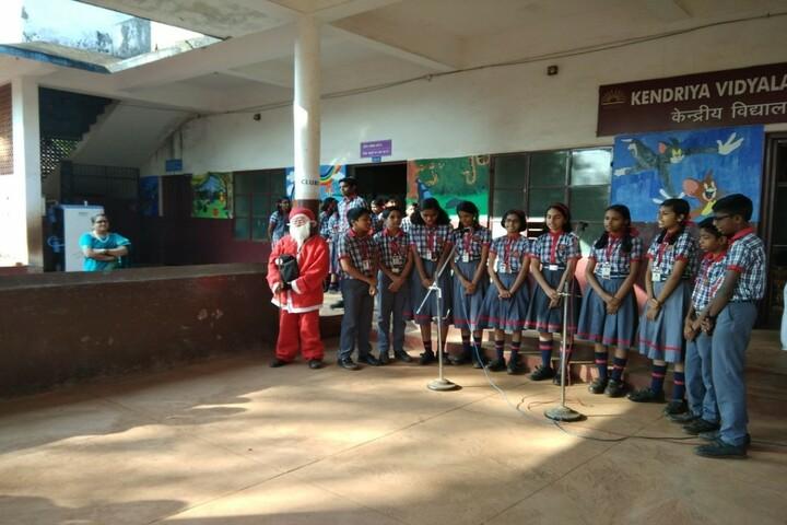 Kendriya Vidyalaya-Chrisstmas Celebrations