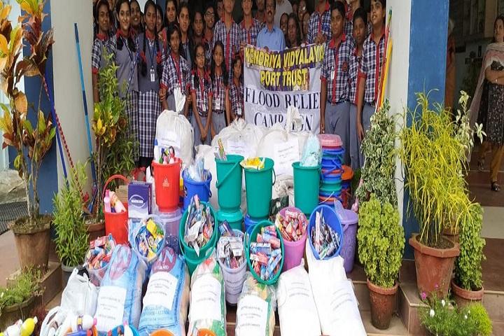 Kendriya Vidyalaya No 3-Kerala Flood Relief Campaign