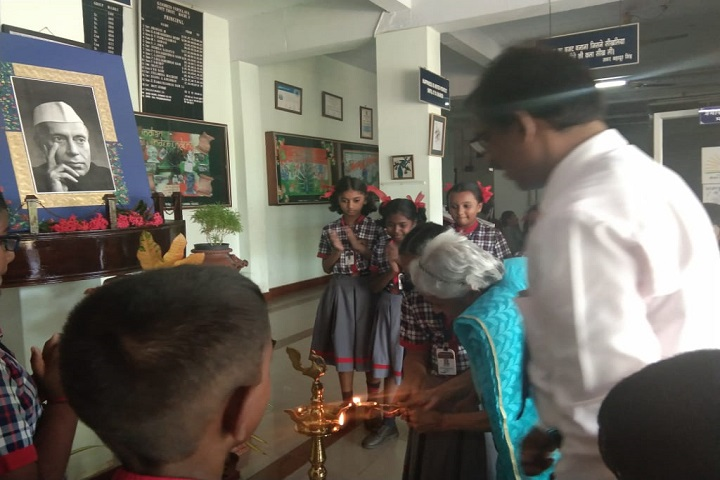 Kendriya Vidyalaya No 3-Lighting The Lamp