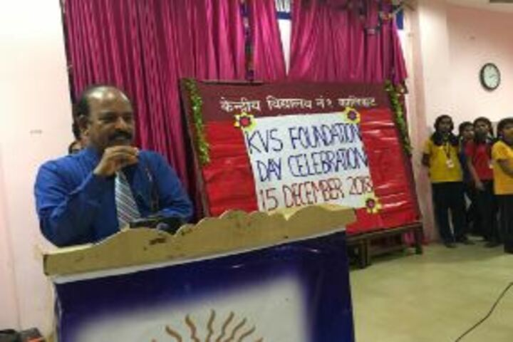 Kendriya Vidyalaya No 1-Foundation Day