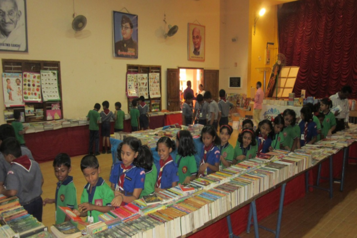 Kendriya Vidyalaya No 1-Books Exhibition