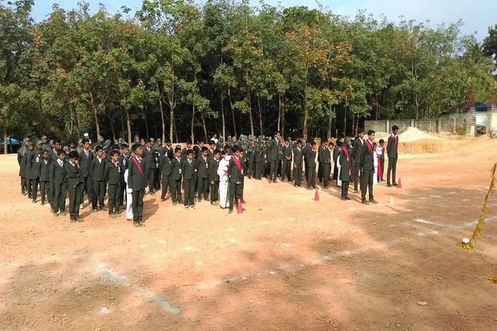 KMJ English Medium School-Investiture Ceremony