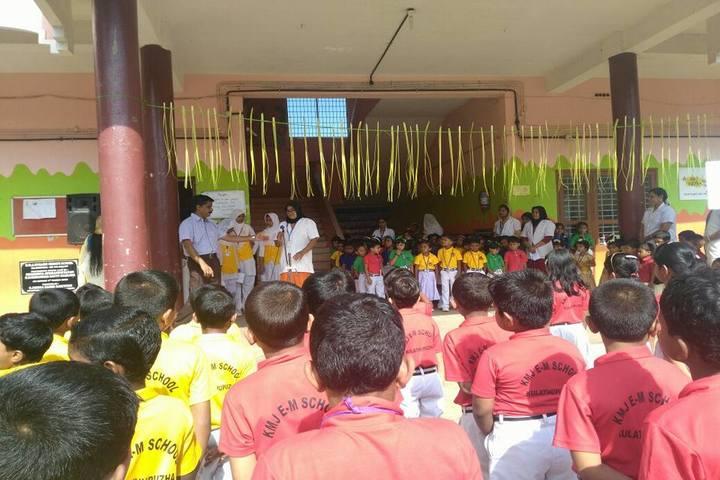 KMJ English Medium School-Special Assembly
