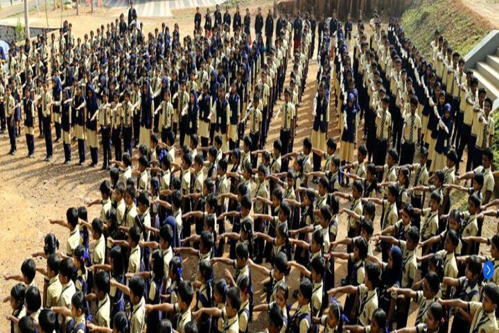 Koppam English Medium School-Assembly