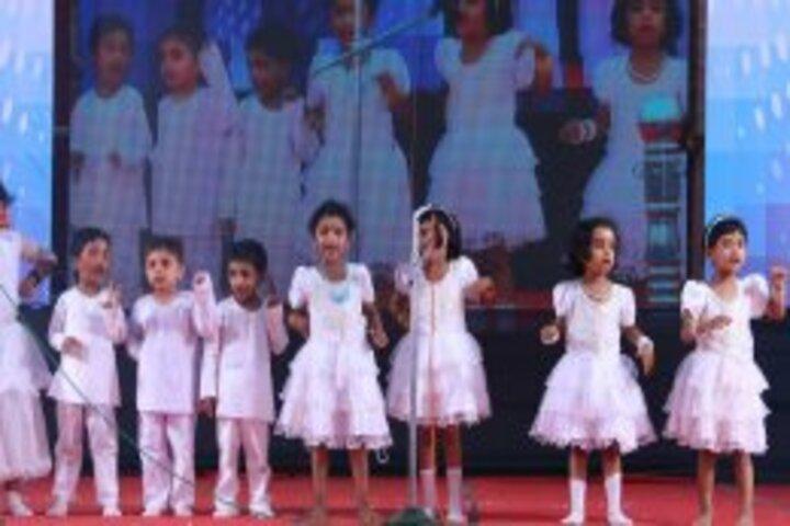 Koppam English Medium School-Singing Activity