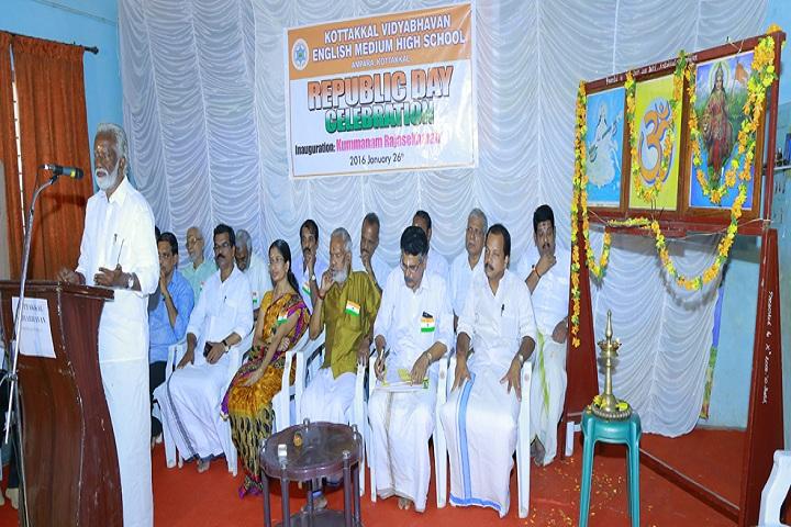 Kottakkal Vidya Bhavan English Medium School-Republic Day