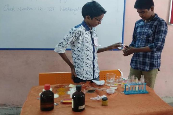 Kottappuram Central School-Chemistry Lab