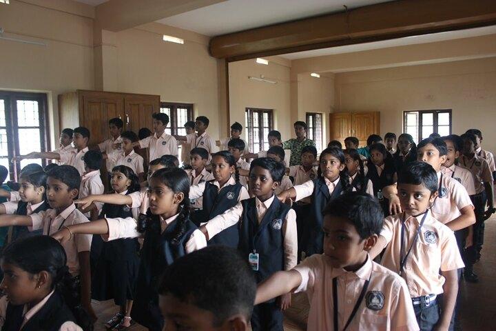 Kristu Raja Public School-Assembly