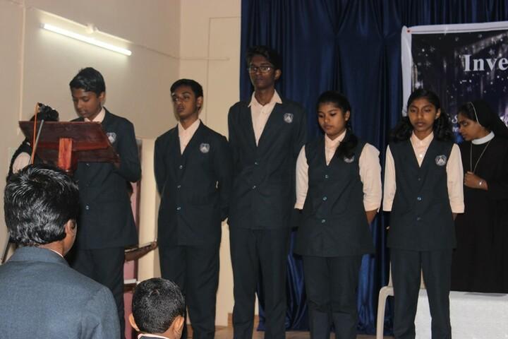 Kristu Raja Public School-Investiture Ceremony