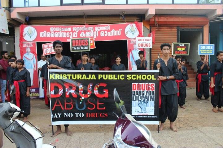 Kristu Raja Public School-Rally