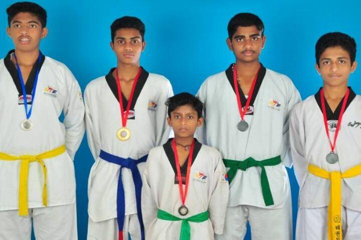 KTCs NECT Public School-Taekwondo Champions