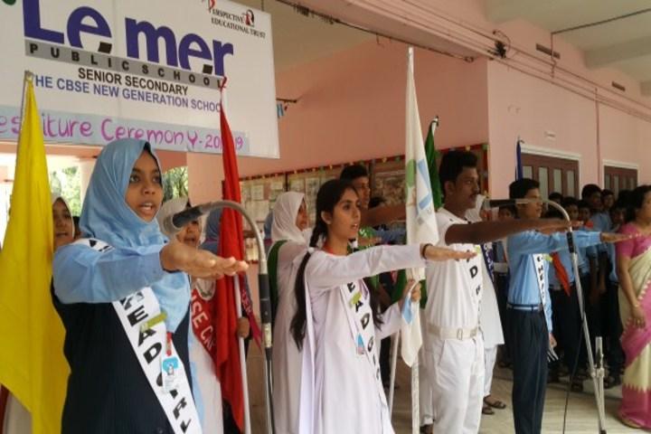 Le Mer Public School-Investiture Ceremony