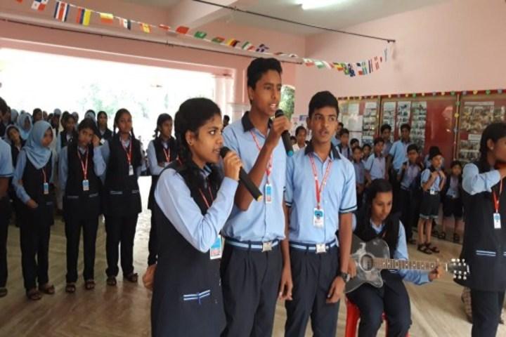 Le Mer Public School-Singing Activity