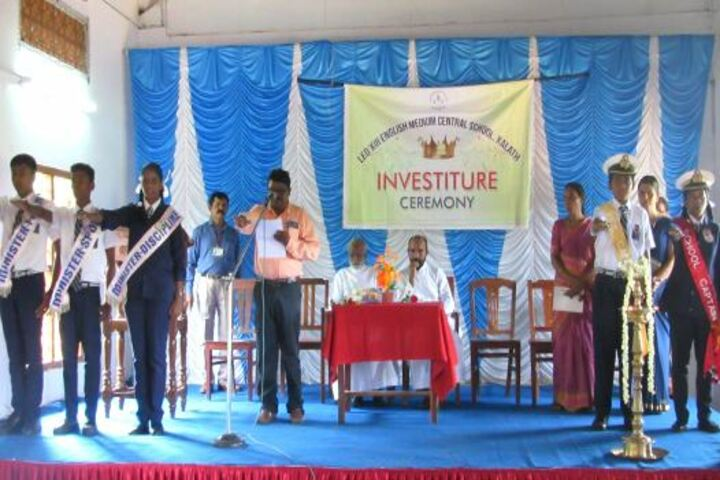 Leo XIII English Medium School-Investiture Ceremony