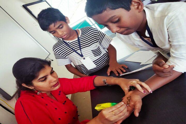 Life Valley International School-Mehandi Competition