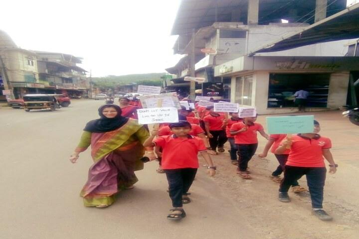 Little India Public School-Rally