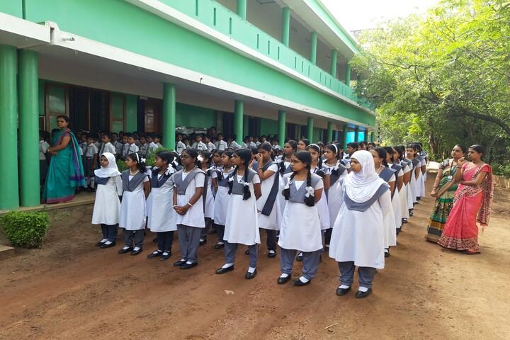Lord Krishna Residential Public School-Assembly