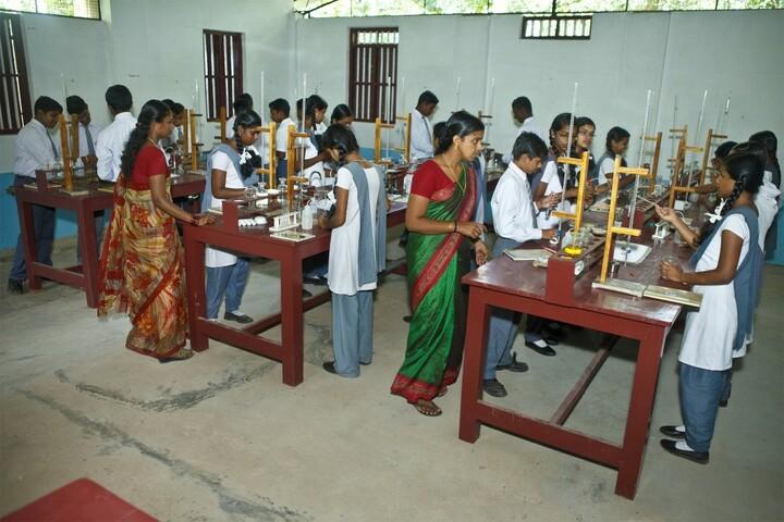 Lord Krishna Residential Public School-Chemistry Lab