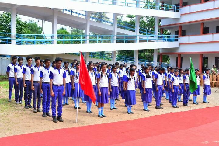 Lourdes Mata Central School-Investiture Ceremony