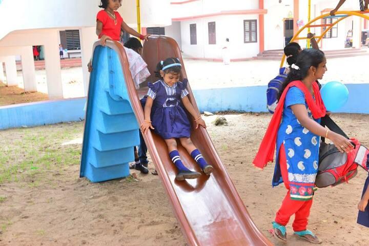 Lourdes Mata Central School-Kids Play Area