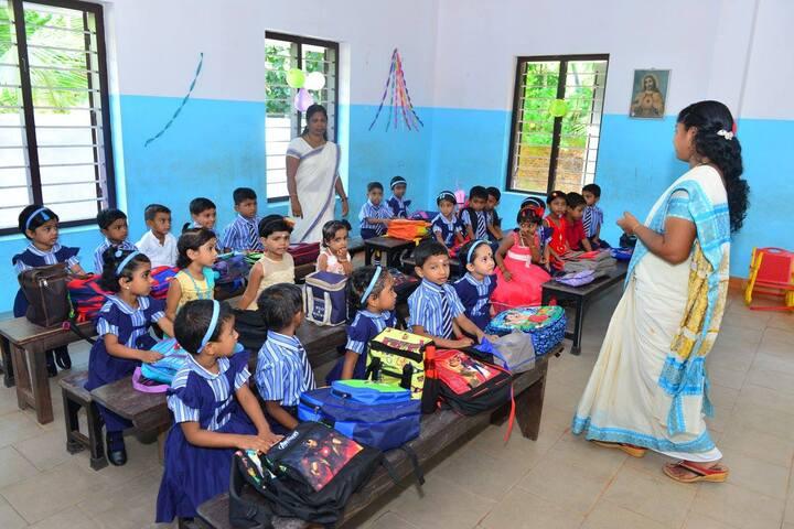 Lourdes Mata Central School-Primary Classroom