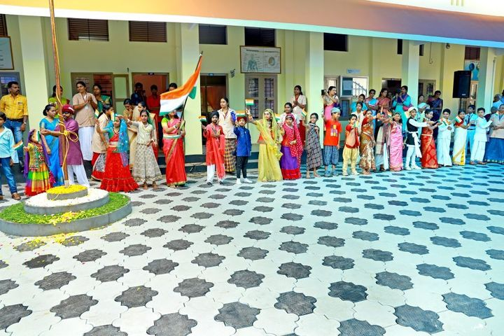 Lourdes Matha Public School-Independence Day Celebrations