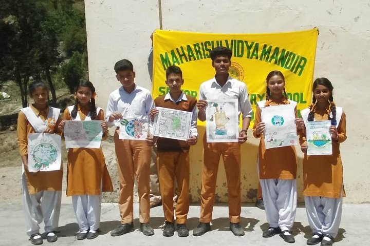 Maharishi Vidya Mandir- Earth Day