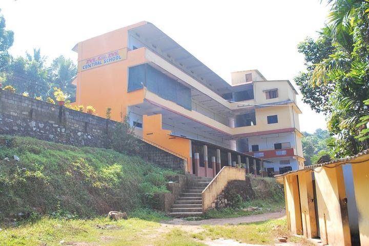 M G M Central School-Campus View